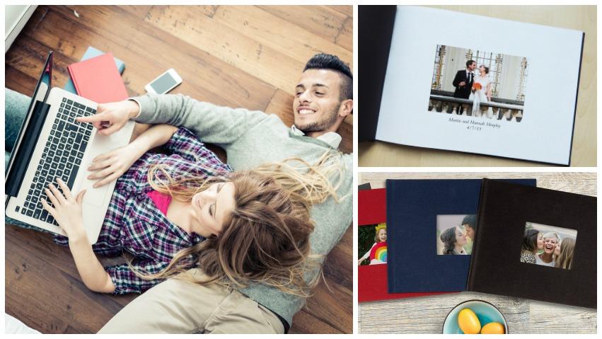 ein Fotobuch online gestalten