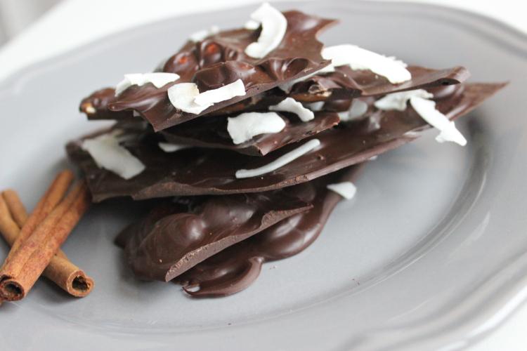 Adventsschokolade selber machen