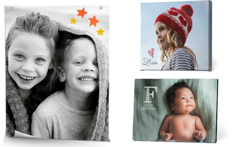 Türschilder mit eigenen Fotos gestalten