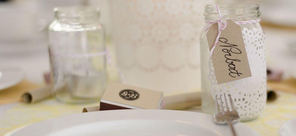 Gastgeschenk Teelichter