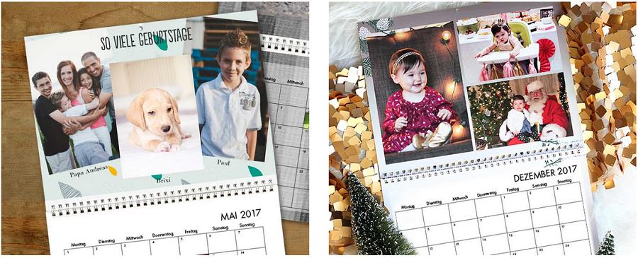Kalender in beliebigem Monat beginnen