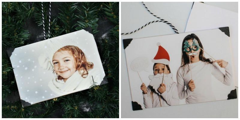 Foto-Anhänger für den Christbaum oder Geschenke