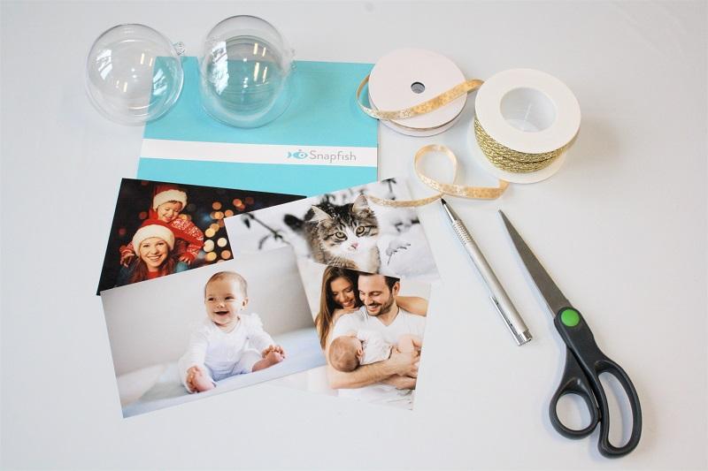 Material für Bastelideen zu Weihnachten