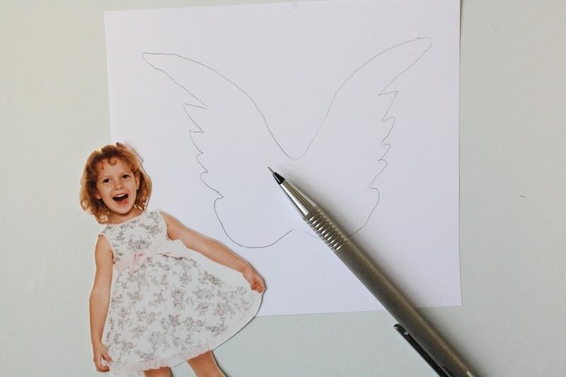 Engelsflügel zeichnen