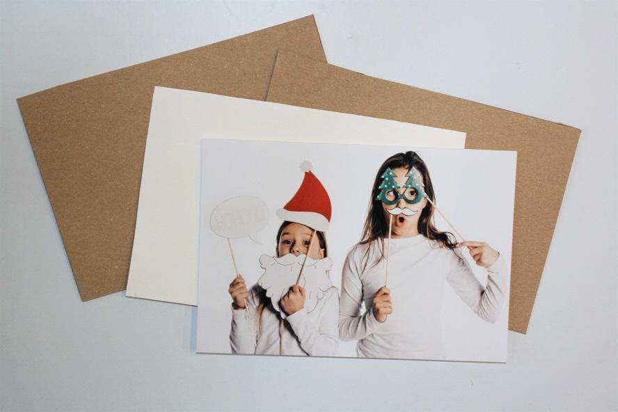 Bastelidee zu Weihnachten mit Foto