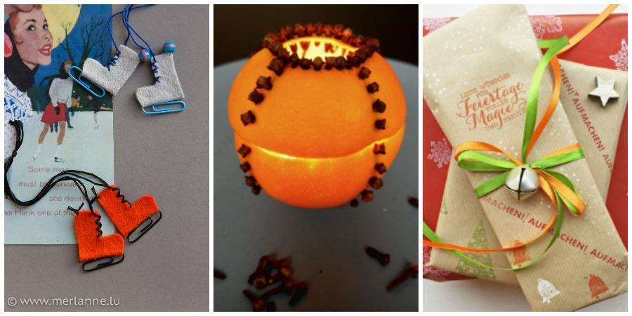 DIY-Ideen für's Basteln mit Kindern zu Weihnachten