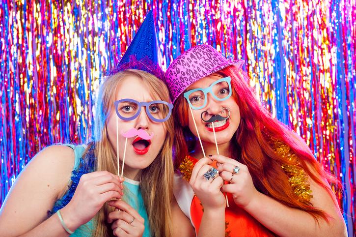 Witzige Fotoideen für die Silvesterparty