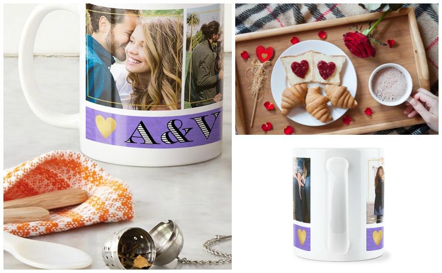 Foto-Tasse als Valentinstagsgeschenk selbst designen