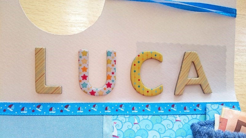 der Name Luca ziert die Karte