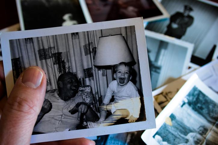 Altes Fotos fürs Fotoalbum verwenden