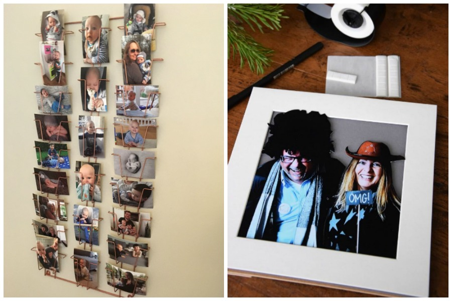 Postkartenhalter und Bild mit 3-D-Effekt als Fotogeschenk
